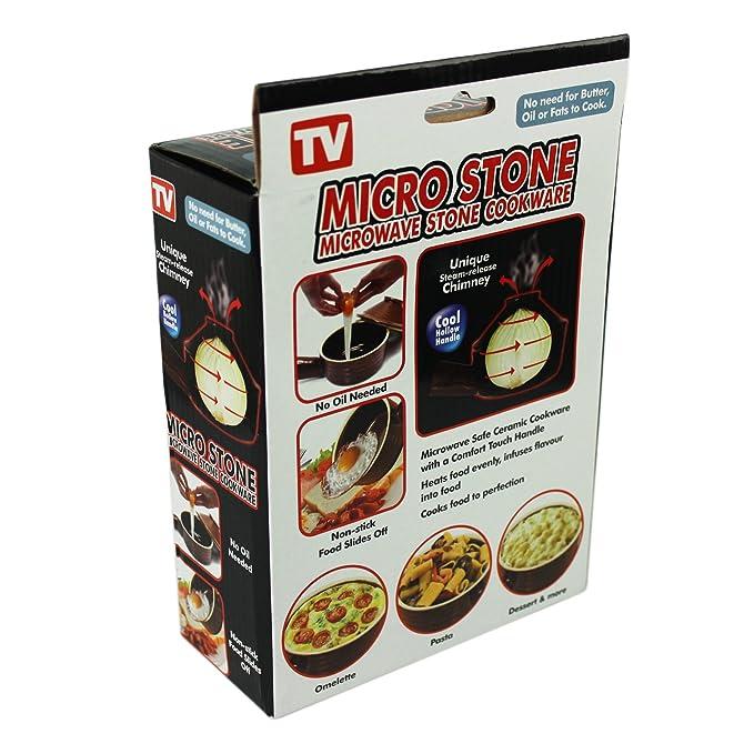 Amazon.com: Olla microondas piedra Inicio Gres Cocina Micro ...