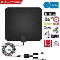 Câble DE 13.2ft avec l'Amplificateur Détachable Aérienne Digitale Puissante HDTV