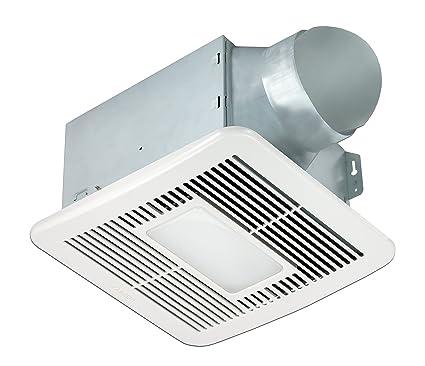 Delta Breezsmart Smt150led 150 Cfm Exhaust Bath Fan With Led Light And Night Light