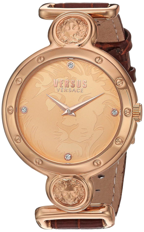 Versus by Versace Women 's sol060015 Sunnyridge Analog Display Quartz Brown Watch B0156QV0VA