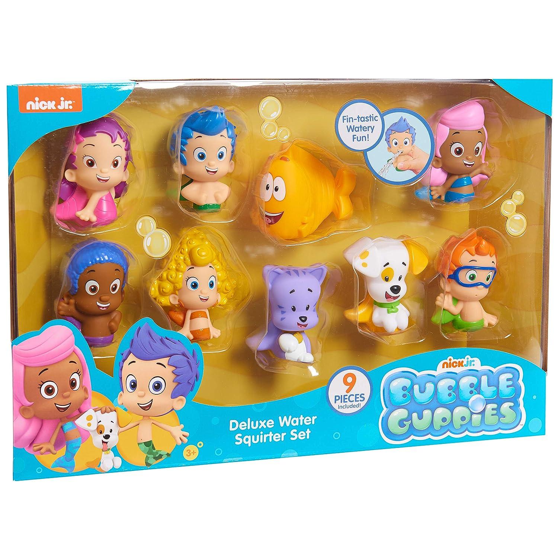 SG/_B07KJRP2F7/_US Bubble Guppies Nick Jr Deluxe Water Squirter Set Nick Jr