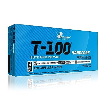 Olimp Sport Nutrition T-100 Hardcore Testosterona - 120 Cápsulas