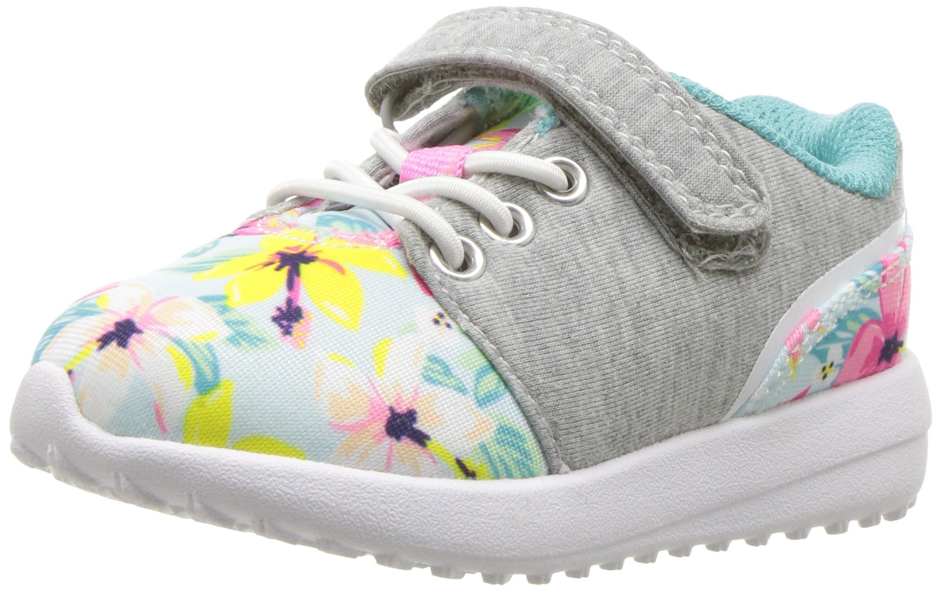 Carter's Odissey Girl's Lightweight Sneaker, Print, 11 M US Little Kid