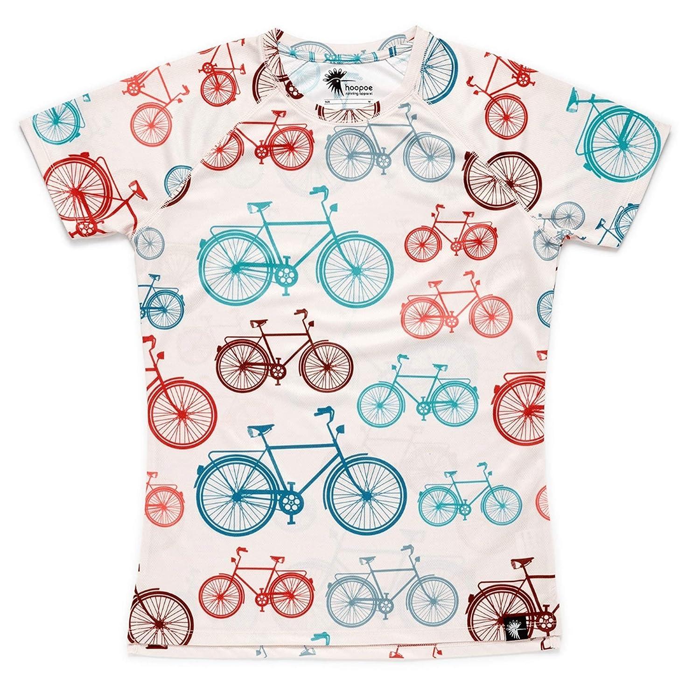Gimnasio #Bike Camiseta Running Mujer Manga Corta