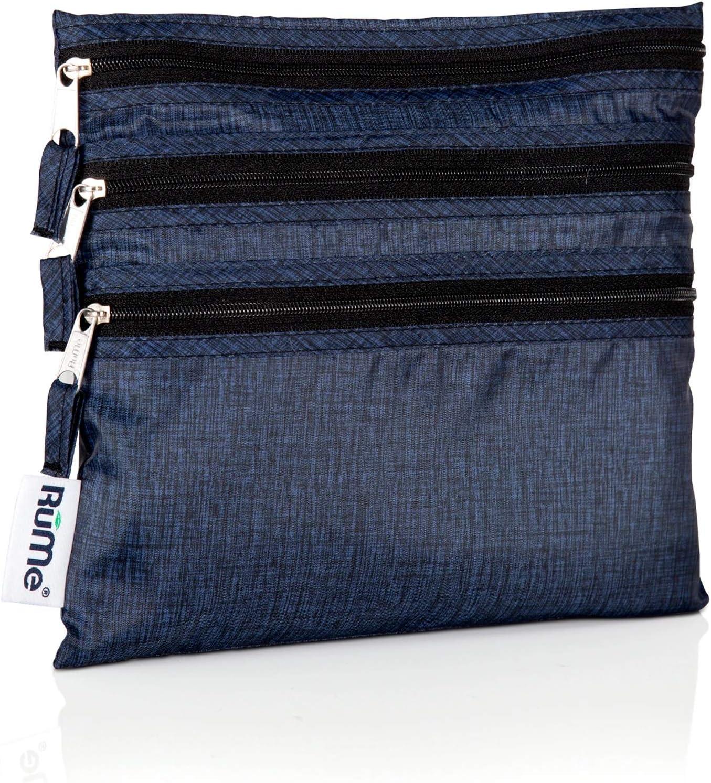 RuMe Bags Baggie All Zippered Organizer Black