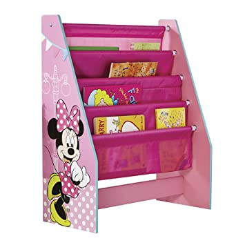 Disney Minnie Mouse Kids Sling Bookcase   Bedroom Storage By HelloHome