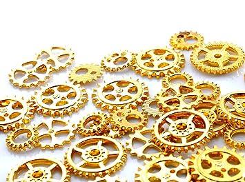las piezas del engranaje bolsas de oro del encanto de ...