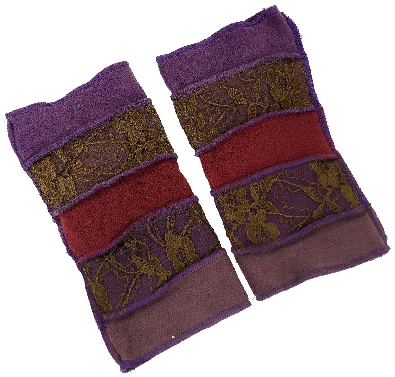 Schwarz Guru-Shop Elfen Handstulpen Herren//Damen Handstulpen Alternative Bekleidung Size:One Size Synthetisch