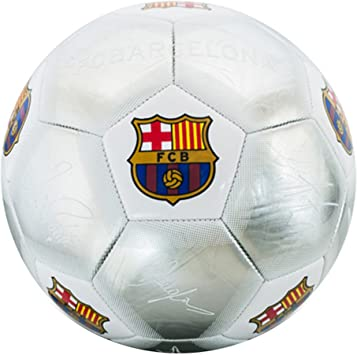Plata Firma Oficial del FC Barcelona Crest Fútbol (tamaño 5 ...