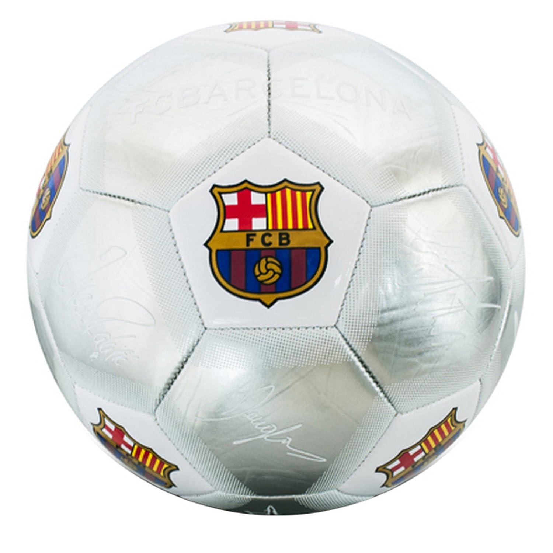 F.C. Barcelona Fútbol signature Plata (SV) Tamaño 5 UKSoccershop BC04235