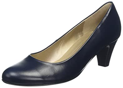 Gabor Shoes Damen Basic Pumps, Blau (Ocean), 37 EU