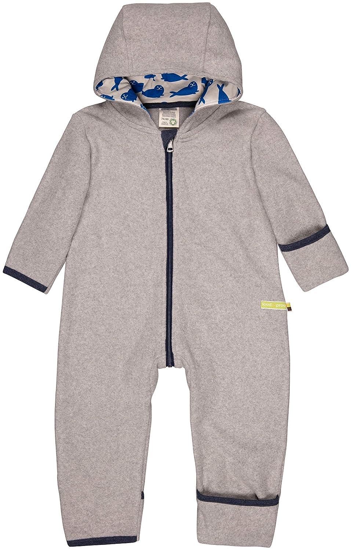 proud Unisex Baby Overall Fleece aus Bio Baumwolle loud GOTS Zertifiziert Schneeanzug