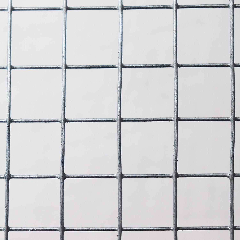 L/änge und H/öhe w/ählbar DD 12,7x12,7 x 500 mm L/änge 5 m Volierendraht Maschendraht Hasendraht H/ühnerzaun Kleintierzaun Hasengitter Kaninchendraht anthrazit Maschenweite