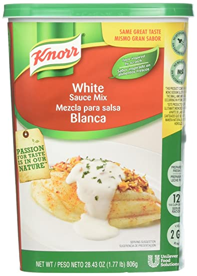 Knorr Sauce Mix White 1.77 lbs, Pack of 4