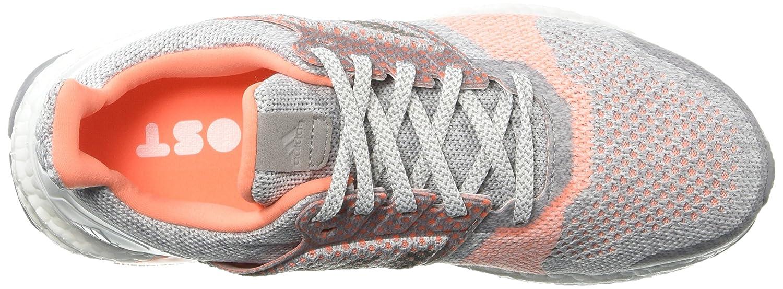 adidas Originals Women's Ultraboost St B0778TYJ4M 5 B(M) US|Crystal White/Grey/Clear Orange