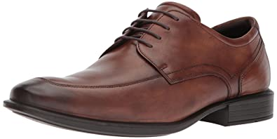 ECCO Men's Cairo Apron Toe Oxford, Amber, 39 EU/5-5.5 M