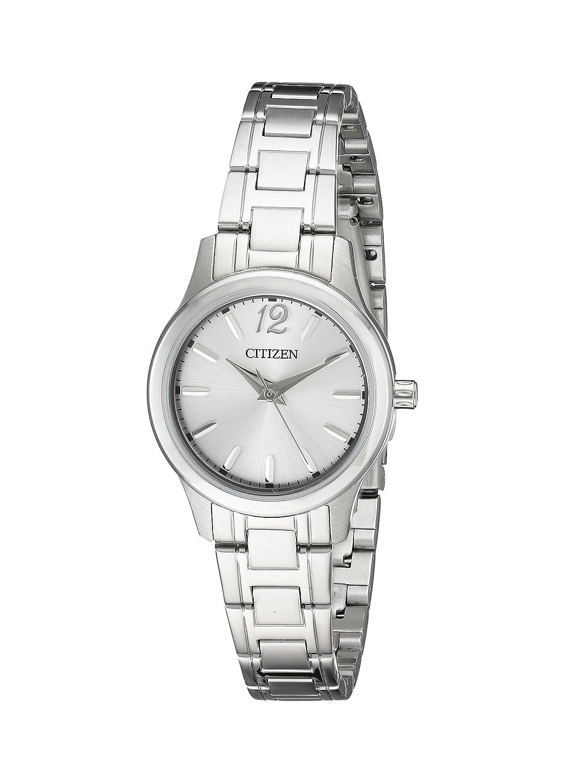 Citizen Women s EL3030-59A Analog Display Japanese Quartz Silver Watch