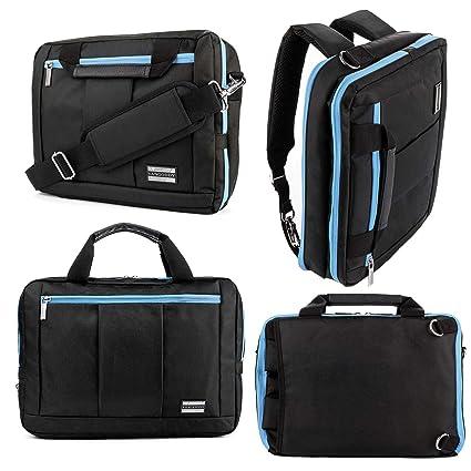 841f26bcf214 Business Laptop Backpack 15.6 16 17.3 Inch Convertible Messenger Bag  Crossbody Shoulder Bag Briefcase Slim Travel Bag College Daypack for Men  Women, ...