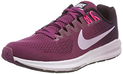 5d12836f5080e Nike Women s W Air Zoom Structure 21 Running Shoes  Amazon.co.uk ...