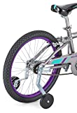 Schwinn Training Wheels for Kids Bikes, Designed to Fit 12-14-16-18-20-Inch Wheels, Sturdy Steel Brackets, Easily Adjustable, and Two Decal Sets Included