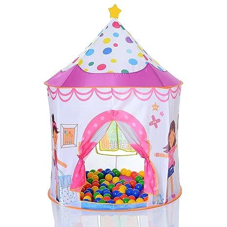tenda gioco bambino  LCP Kids 305 Tenda gioco per bambini pop up + 100 palline
