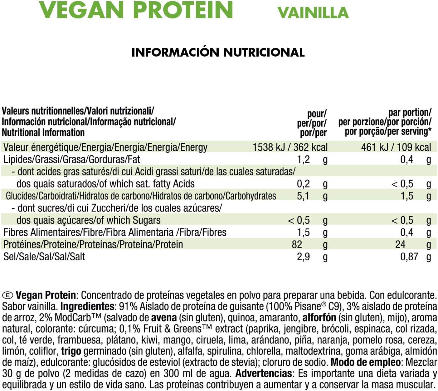 Joe Weider VictoryVegan Protein - 750 Gram Vanilla: Amazon.es ...