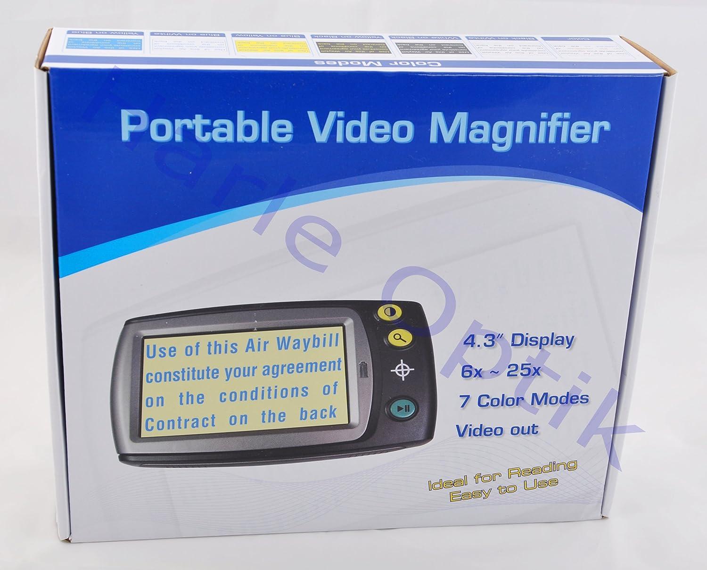 M/öller-Therm Tragbare Videolupe 158 x 88 x 25 mm