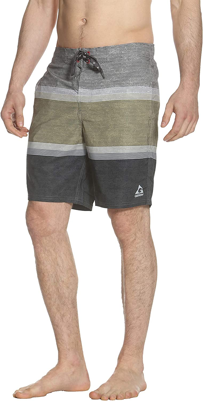 Gerry Ace Stretch Mens Board Short Swim Trunk Swimwear