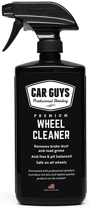 Wheel and Tire Cleaner - Safe for all Wheels and Rims - Works on Alloy Chrome