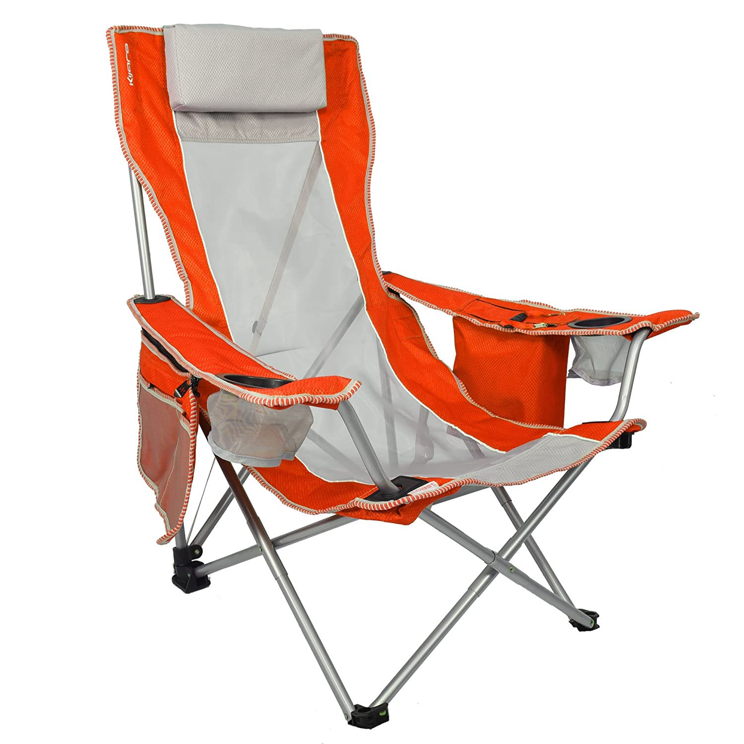 Marvelous Kijaro Coast Folding Beach Sling Chair With Cooler Gmtry Best Dining Table And Chair Ideas Images Gmtryco