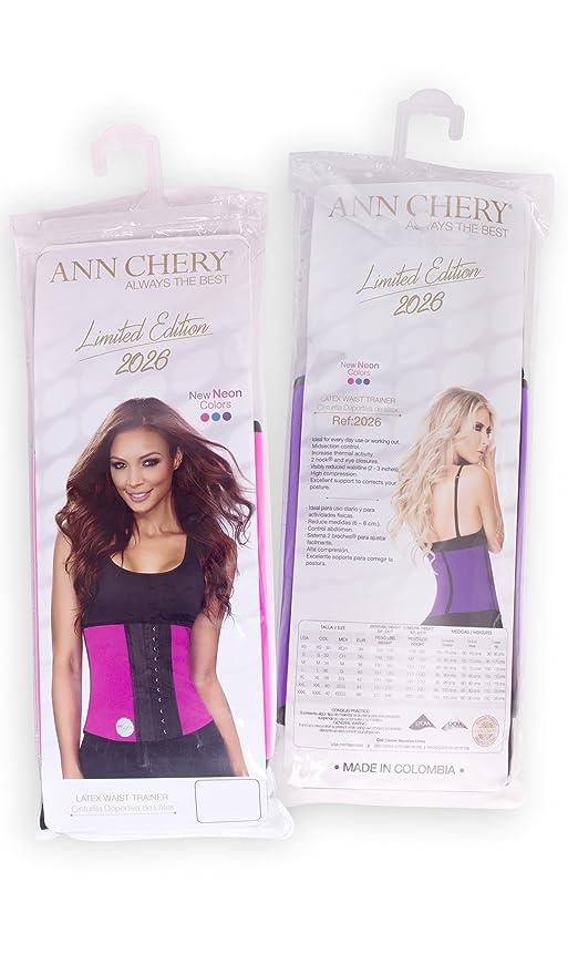 86353cc032 Ann Chery 2026 Limited Edition Workout Faja Deportiva Women Latex Waist  Trainer at Amazon Women s Clothing store