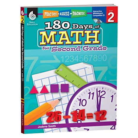 Amazon.com: 180 Days of Math for Second Grade – 2nd Grade Problem ...