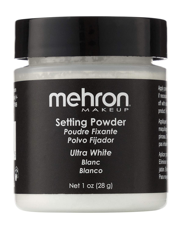 mehron UltraFine Setting Powder with Anti Perspriant Ultra White (並行輸入品)   B008ND0RVS