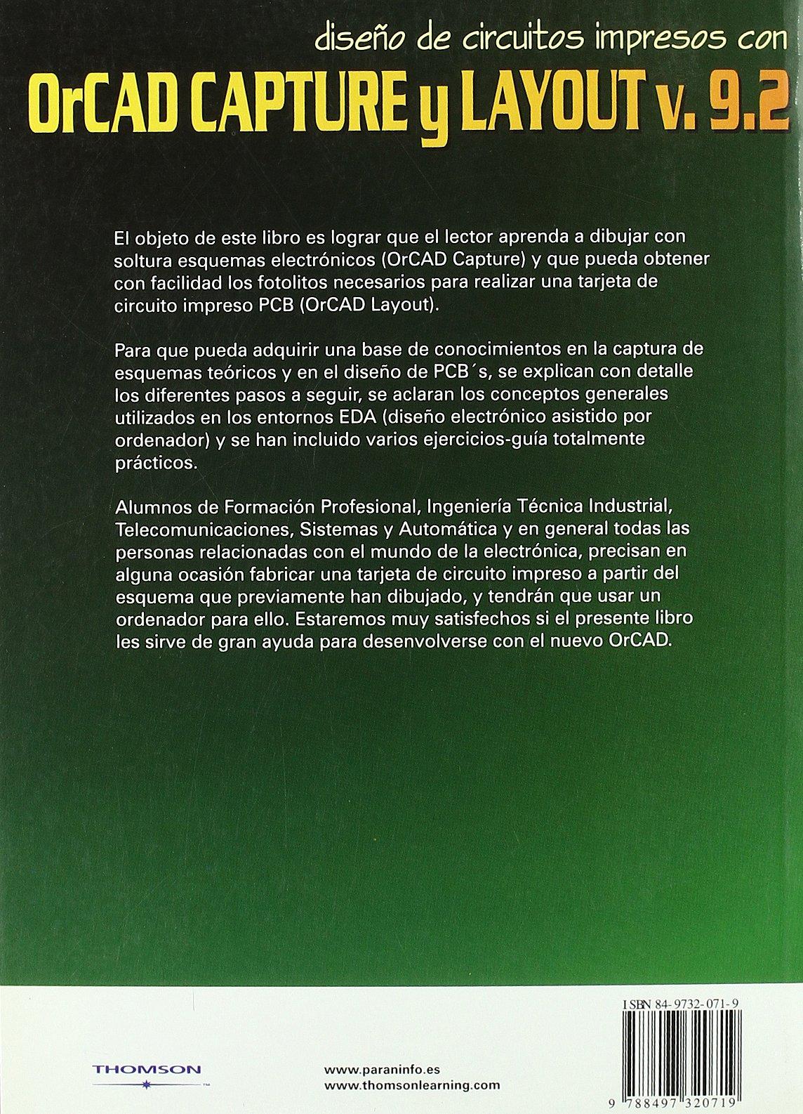 Amazon.com: Orcad Capture y Layaout V.9.2 Diseno de Circuito ...