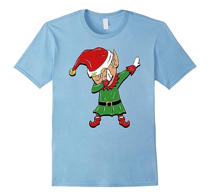 Amazon.com: Dabbing Elf T-Shirt - Funny Christmas Elf Costume: Clothing