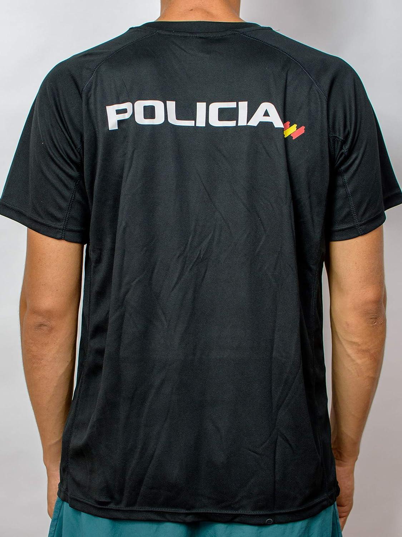 Alpimara Camiseta Policía Nacional Técnica Adulto: Amazon.es: Ropa y accesorios
