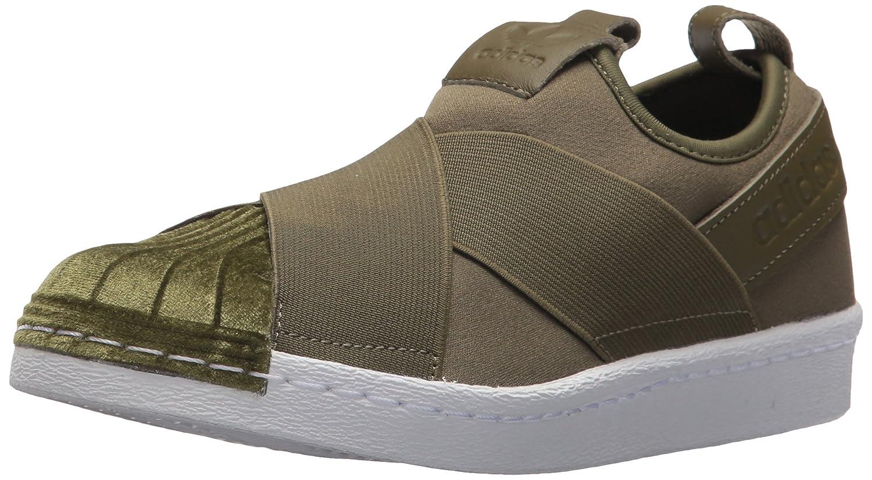 adidas Originals Women's Superstar Slipon W Sneaker B06XWL16PF 8.5 B(M) US|Olive Cargo/Olive Cargo/White