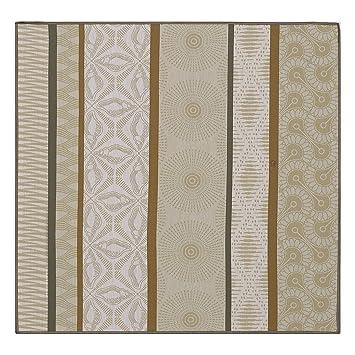 Le Jacquard Francais toalla de mesa Wax Mania, algodón peinado, tabaco, 58 x 58 x 0,1 cm): Amazon.es: Hogar