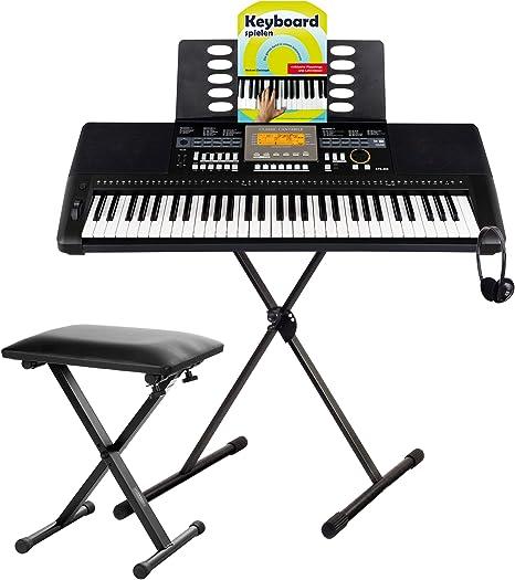 Classic Cantabile CPK-403 Set de teclado Deluxe: Amazon.es ...