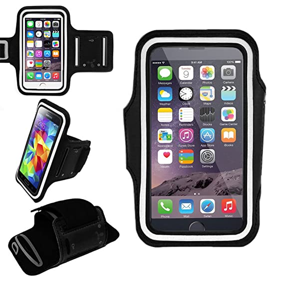 size 40 bab5e 84f93 Amazon.com: EpicGadget Best Running Armband Case for iPhone Xs Max ...