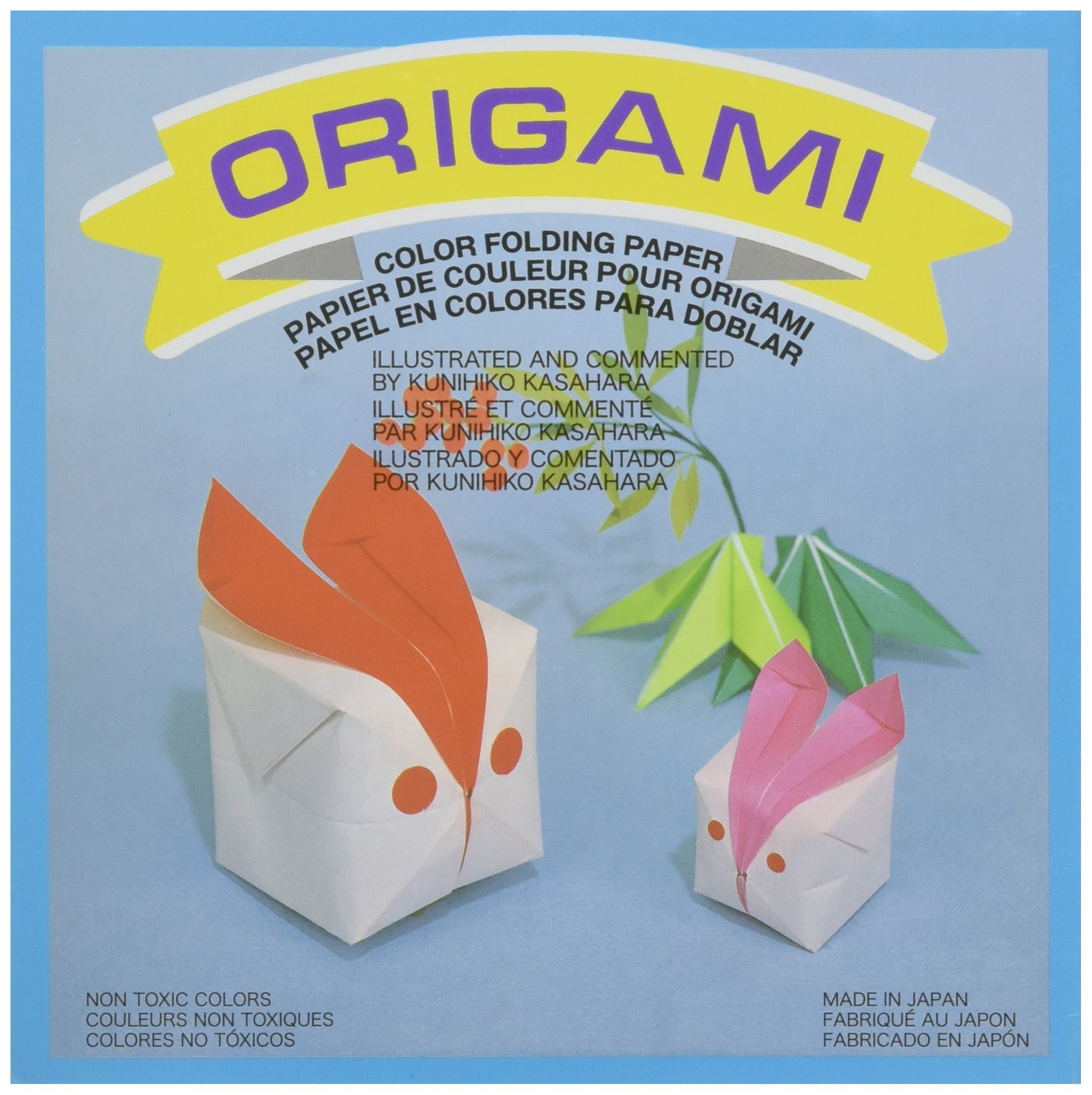 Aitoh OG-4-500 Origami Paper, 5.875-Inch by 5.875-Inch, 500-Pack by Aitoh