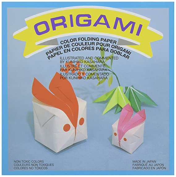 Amazon.com: aitoh og-4 – 500 – Papel Origami, 5.875-inch by ...