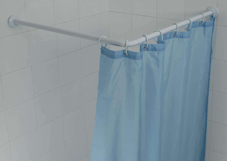 Tenda Vasca Da Bagno Angolare : Shark telaio angolare cm bianco vasche da bagno doccia