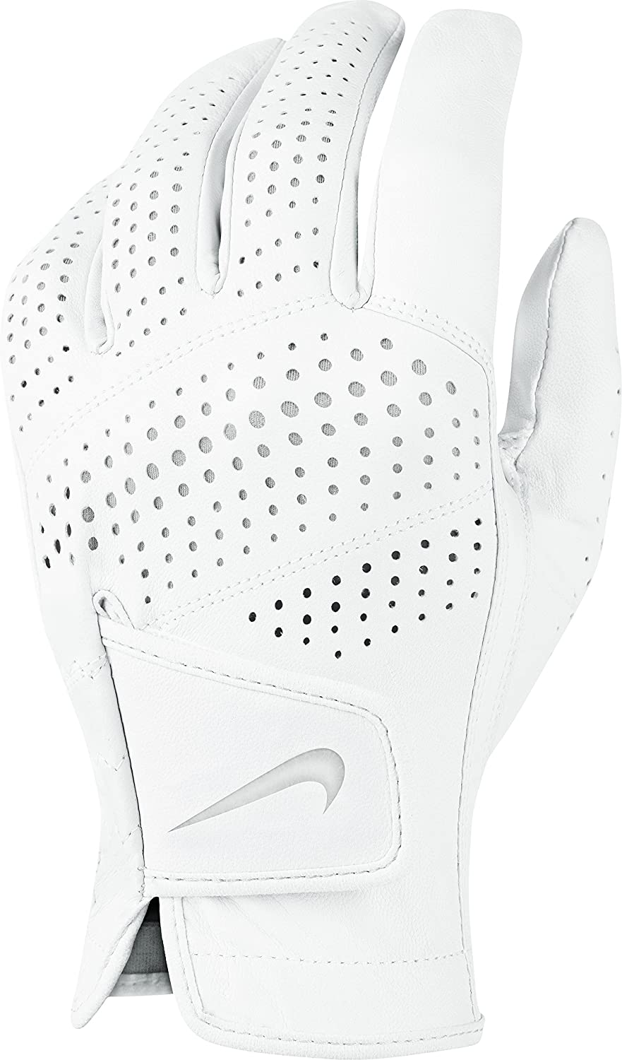Nike Tour Classic II Golf Glove 2016 Ladies Regular White Grey Silve Fit to Left Hand Medium
