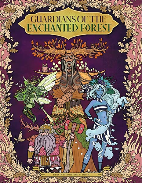 - Amazon.com: Guardians Of The Enchanted Forest — Coloring Book For Adults  And Kids: (Fantasy, Fairies, Inspiration, Relaxation, Meditation)  (9781987637274): Rivers, Julia, Storytroll: Books