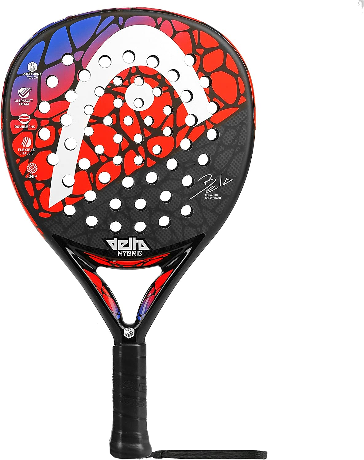 Head Graphene Delta Hybrid 2018, Negro Rojo, 0: Amazon.es ...