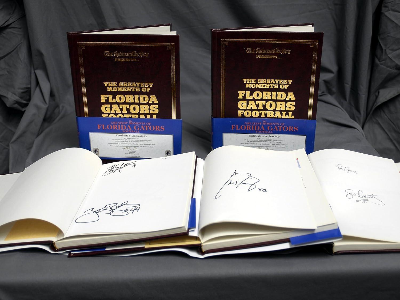 Signed Florida Gators the Greatest Moments of Florida Gators Football 5 Legends Autographs