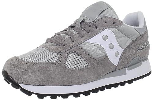 Saucony Shadow Original S2108-524, Zapatillas de Deporte para Hombre, Varios Colores (Gris / Blanco), 42.5 EU: Amazon.es: Zapatos y complementos