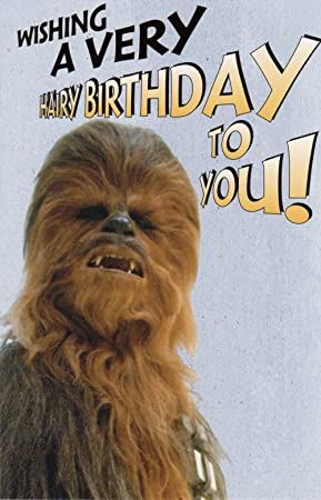 Official licensed chewbacca birthday card star wars amazon official licensed chewbacca birthday card star wars bookmarktalkfo Choice Image