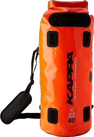 Disipación auditoría Artístico  Amazon.com: Kappa Roller Saddle Bag Waterproof WA405F 40 litres, 2014  Model: Automotive